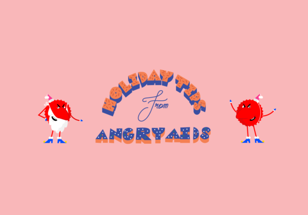 Angry AIDS holiday tips - Maailman aids-päivä