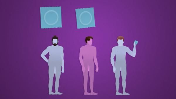 Kondomeja on erilaisia ja eri kokoisia.
