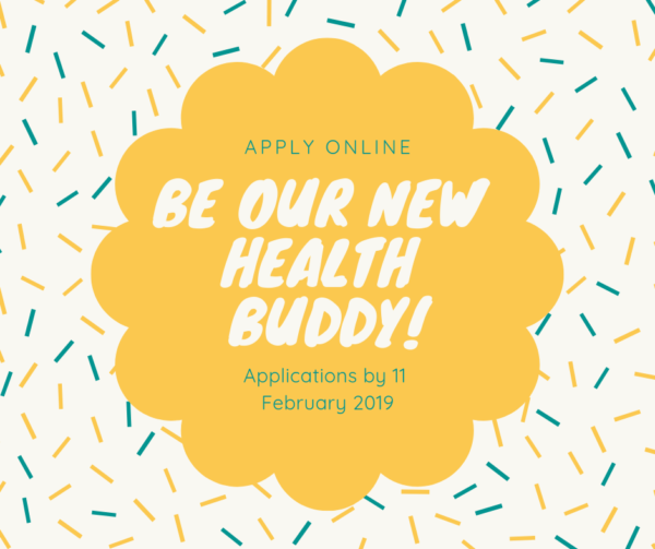 Be our new health buddy