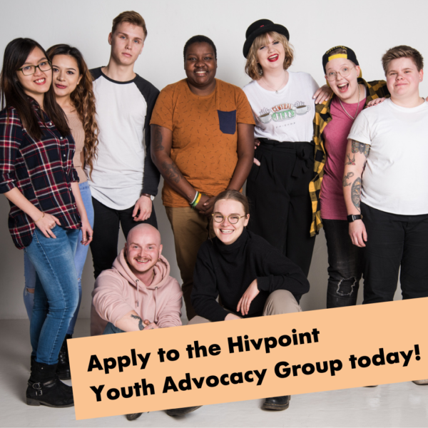 Apply to the Hivpoint Youth Advocacy Group