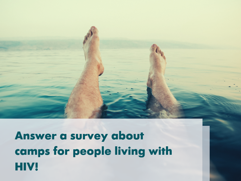 About >> Survey About Wellness Camps For People Living With Hiv