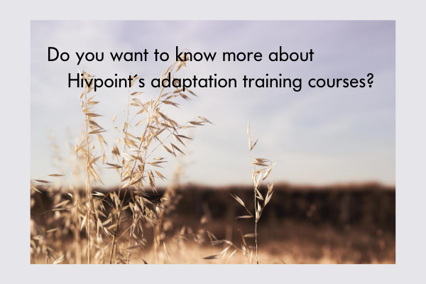 Do you want to know more about adaptation training courses