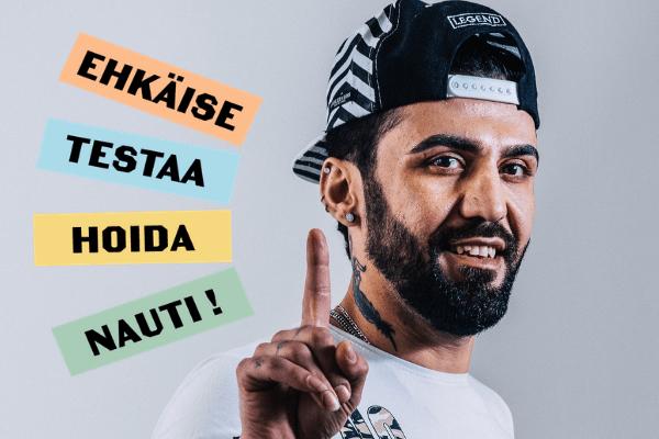 Ehkäise, Testaa, Hoida ja Nauti on Hivpointin uusi kampanja, joka lanseerataan Helsinki Pride viikolla 2021!